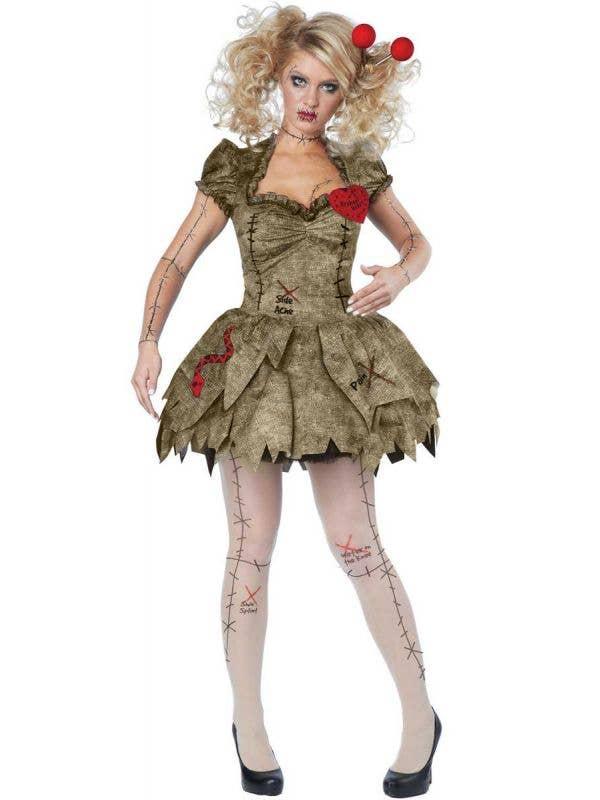 Sexy VooDoo Doll Women's Halloween Costume Product Image