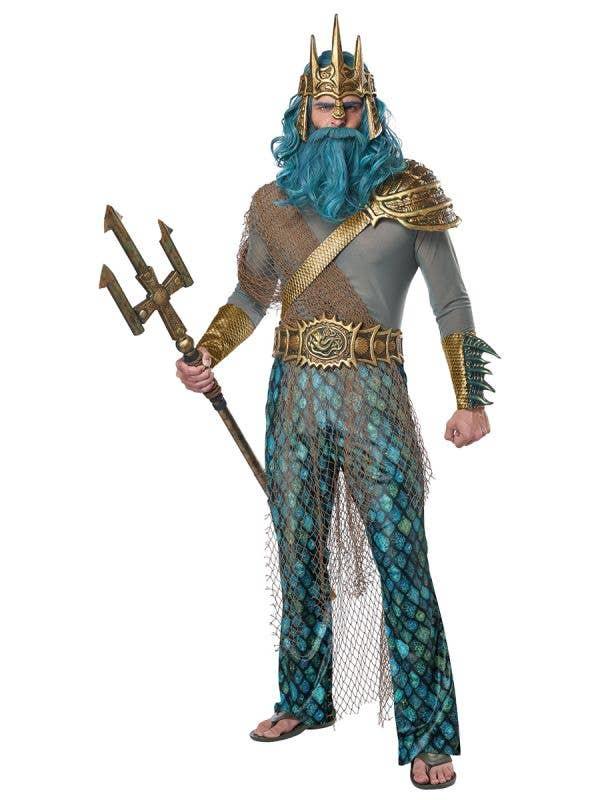 God of the Sea Men's King Neptune Costume