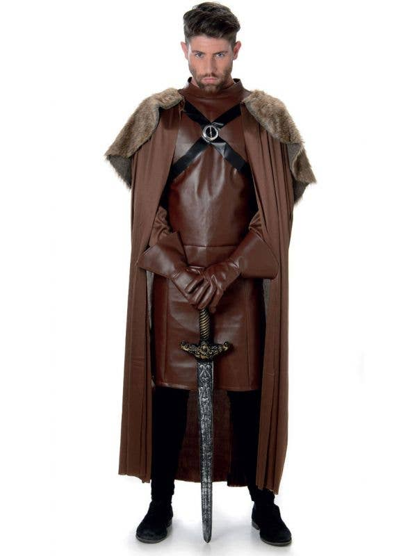 Men's Robb Stark Fancy Dress Costume Main Image