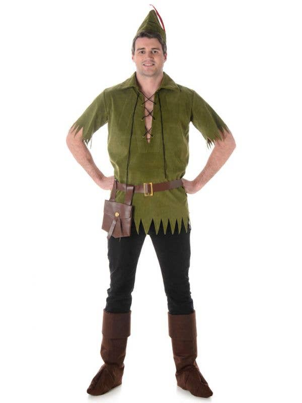 Boys Deluxe Pirate Captain Costume Neverland Book Day Hook Fancy Dress Outfit