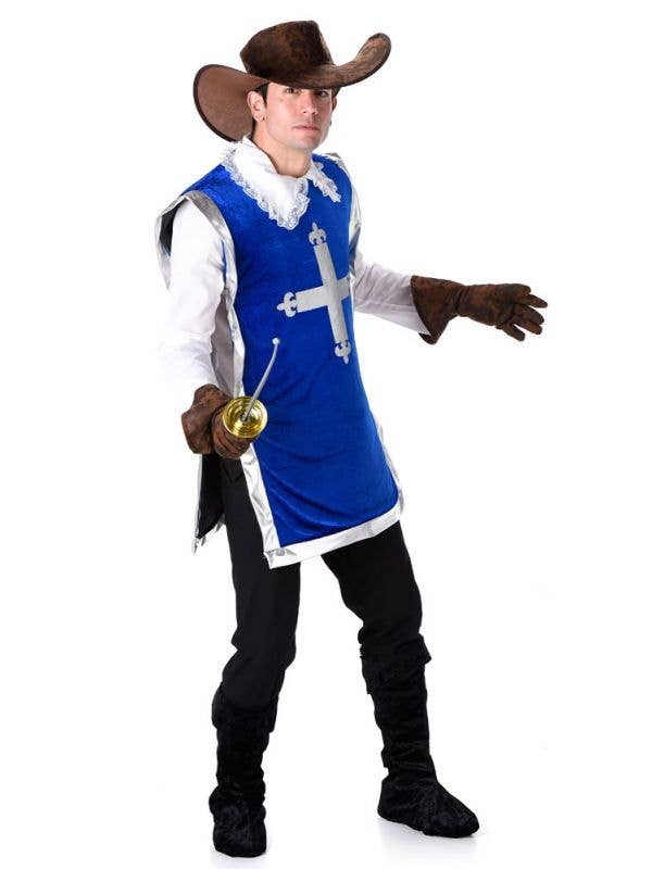 Men's French Musketeer Costume Main Image