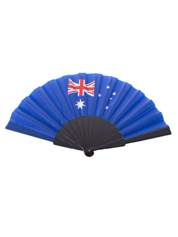 Australian Flag Hand Held Fan Australia Day Merchandise - Main Image