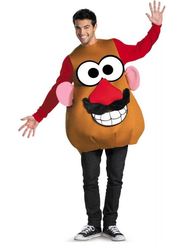 Disguise Adult's Mr And Mrs Potato Head Toy Story Novelty Plush Fancy Dress Costume Main Image