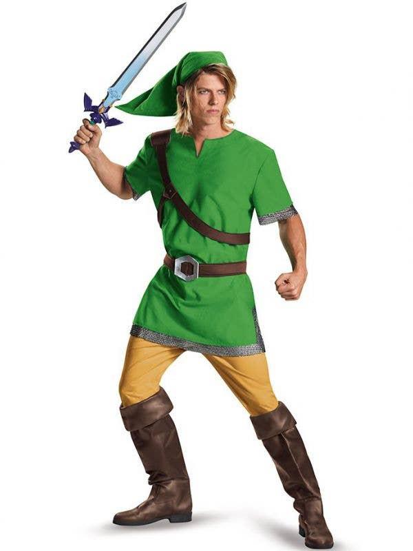 Men's Classic Link Legend of Zelda Costume - Main Image