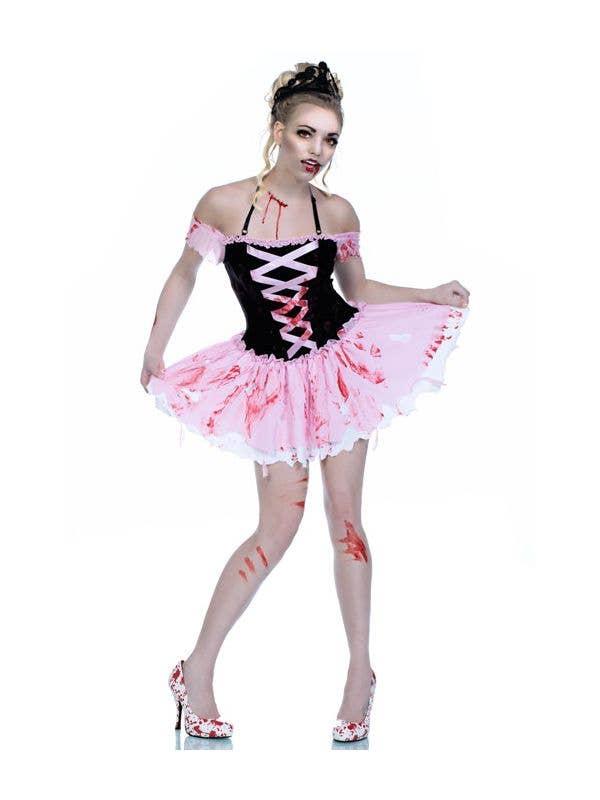 adult L Zombie Ballerina no blood