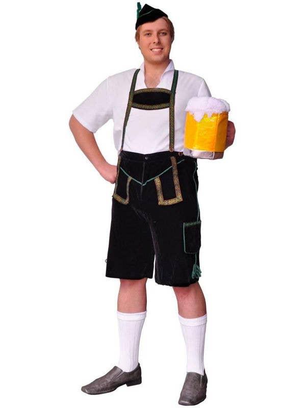 Plus Size Men's German Slap Dance Oktoberfest Costume Main Image