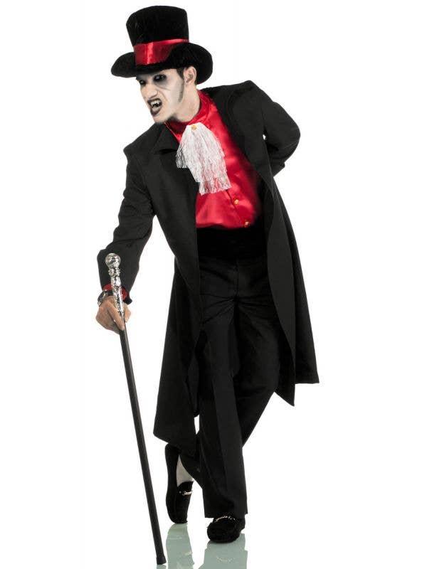 Men's Jack the Ripper Gothic Gentleman's Halloween Costume View 1