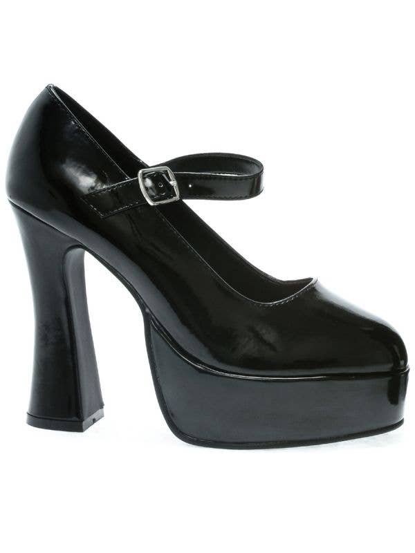 Ellie Shoes Black Women's Mary Jane Platform Costume Shoes - Image 1