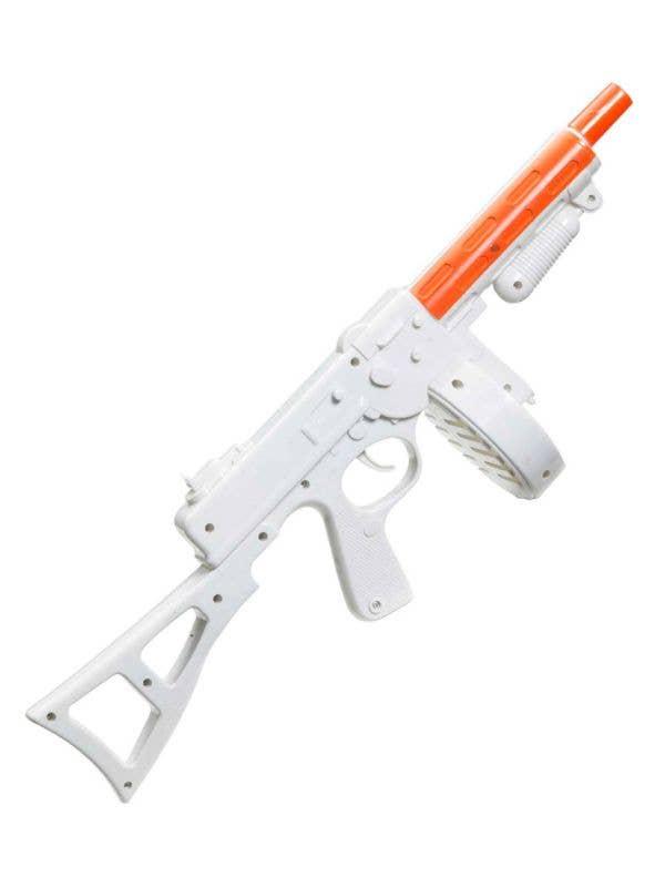 1920s Gangster White Novelty Tommy Gun - Main Image