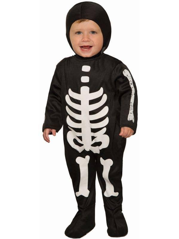 Infant and Toddler Skeleton Halloween Fancy Dress Costume