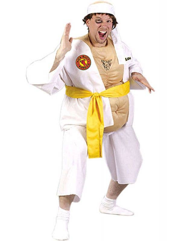 Men's Funny Kung Fu Lou Karate Costume