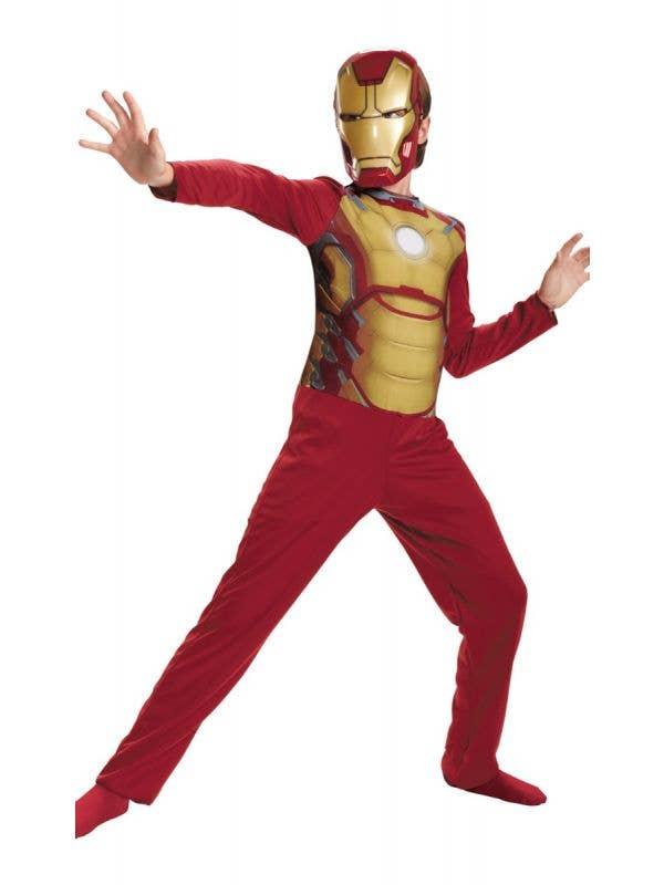 Boy's Marvel Avengers Mark 42 Iron Man Fancy Dress Costume Main Image