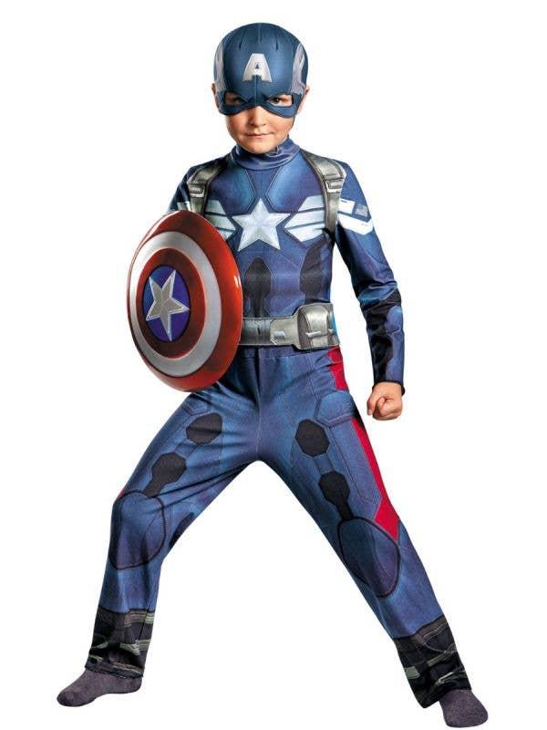 Captain America Winter Soldier Boy's Costume Main Image