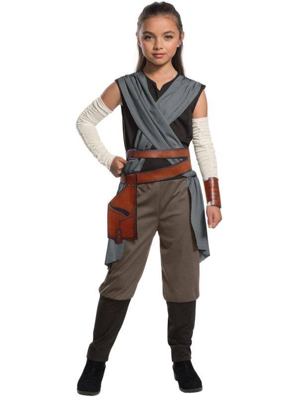 Star Wars Force Awakens Girl's Classic Rey Costume