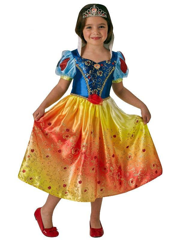 Rubies Girl's Officially Licensed Snow White Disney Princess Book Week Costume - Main Image