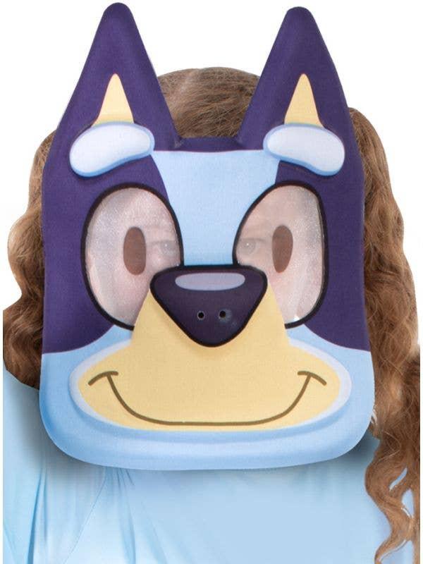 Licensed EVA Foam Bluey Costume Mask for Kids
