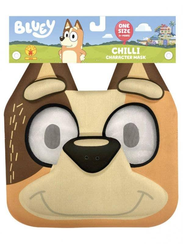 Bluey Licensed EVA Foam Chilli Costume Mask for Kids