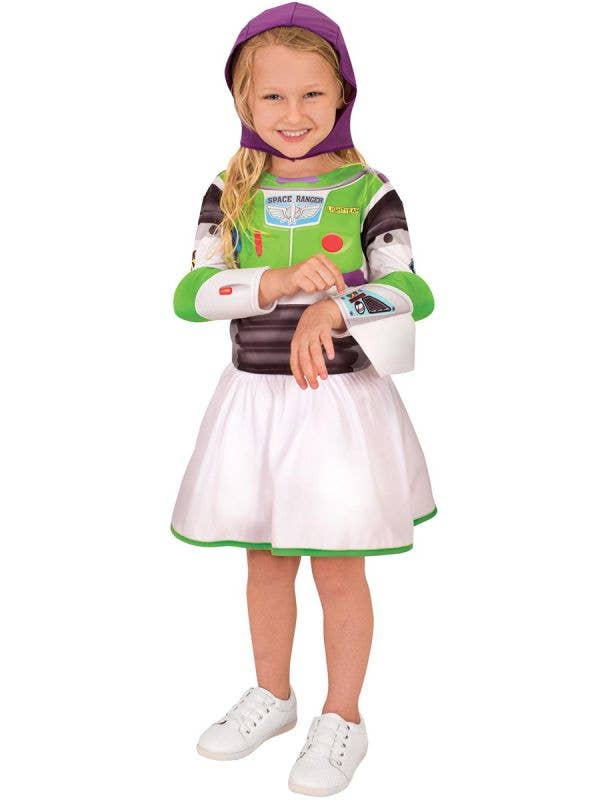 Girl's Deluxe Miss Buzz Lightyear Book Week Costumes - Main Image