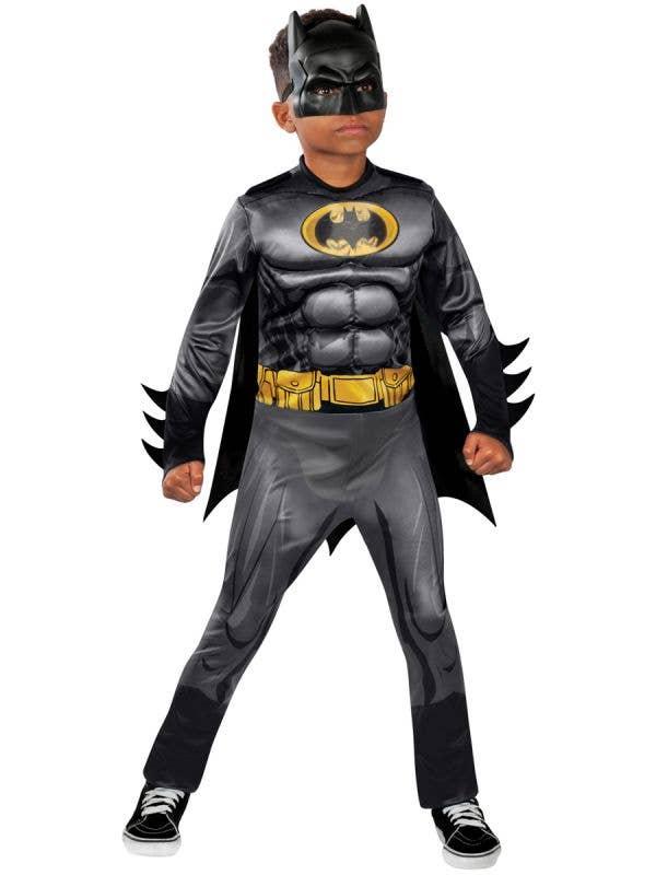 Boys Batman Dress Up Costume - Main Image