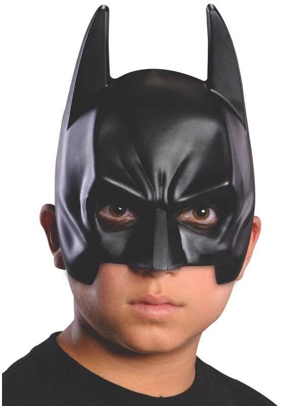 Kids Batman Costume Party Mask - Main Image