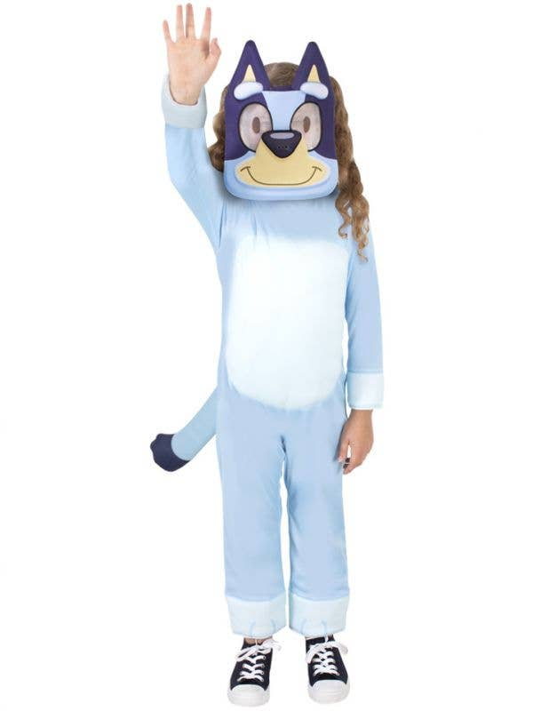 Deluxe Licensed Bluey Kid's Costume - Front Image