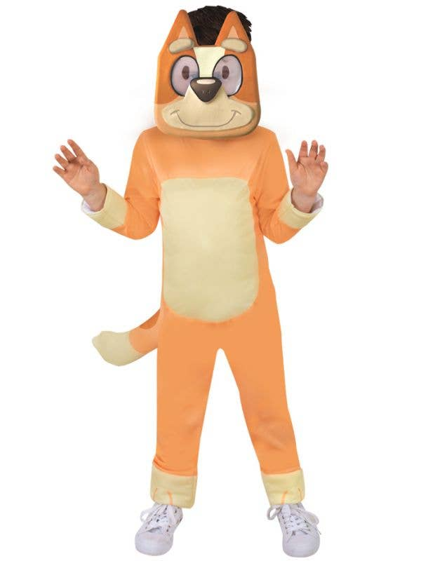 Deluxe Licensed Bluey Kid's Bingo Costume - Front Image