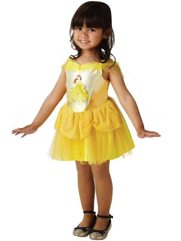 Belle Ballerina Toddler Costume - Front Image
