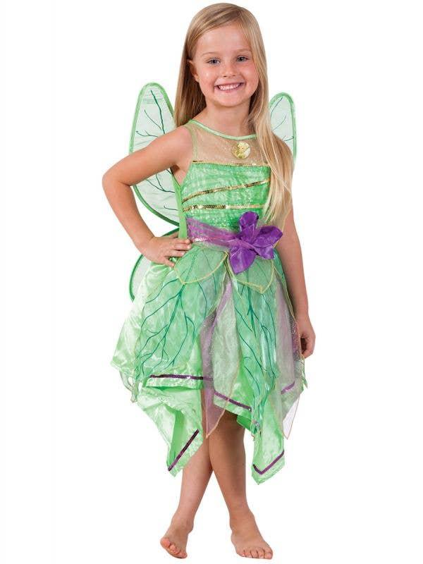 Tinker Bell Green Fairy Costume for Girls