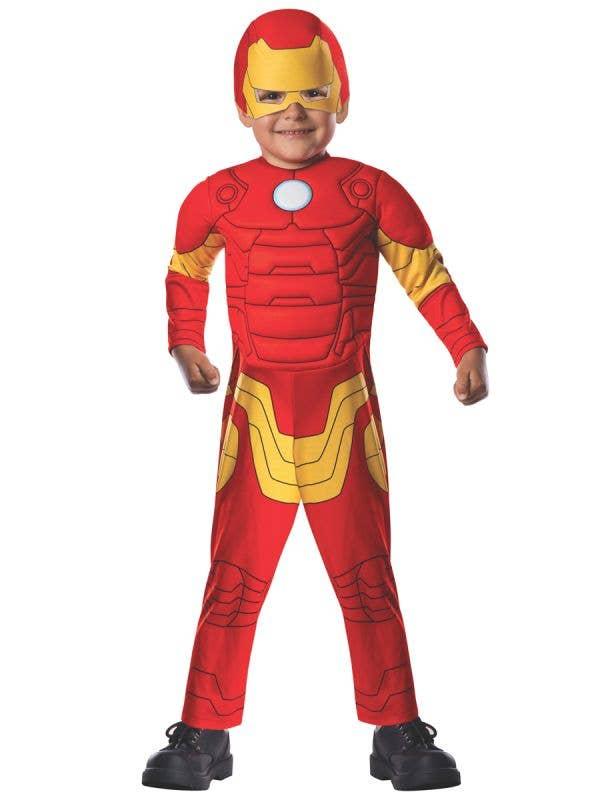 Toddler Boy's Avengers Iron Man Superhero Costume