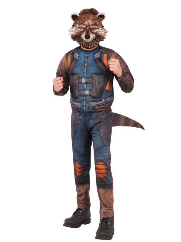 Rocket Raccoon Boy's Guardians of the Galaxy Costume