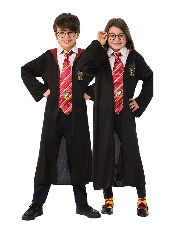 4x Kids Boys Harry Potter Gryffindor School Socks Party Costume