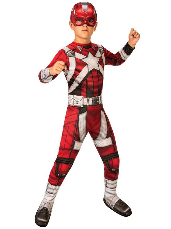 Red Guardian Boy's Black Widow Movie Costume