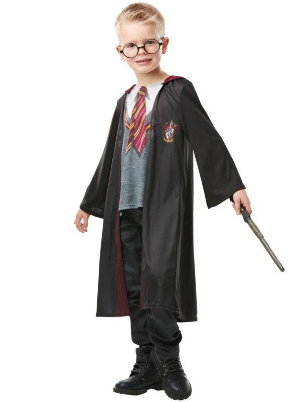 Photo Real Gyffindor Harry Potter Costume Robe for Kids - Front Image