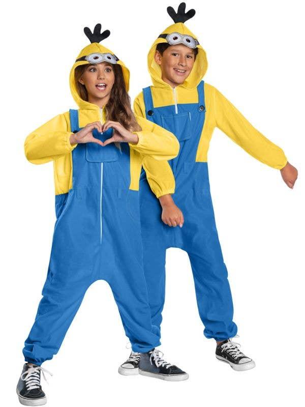 Unisex Kids Minions Rise of Gru Minion Costume