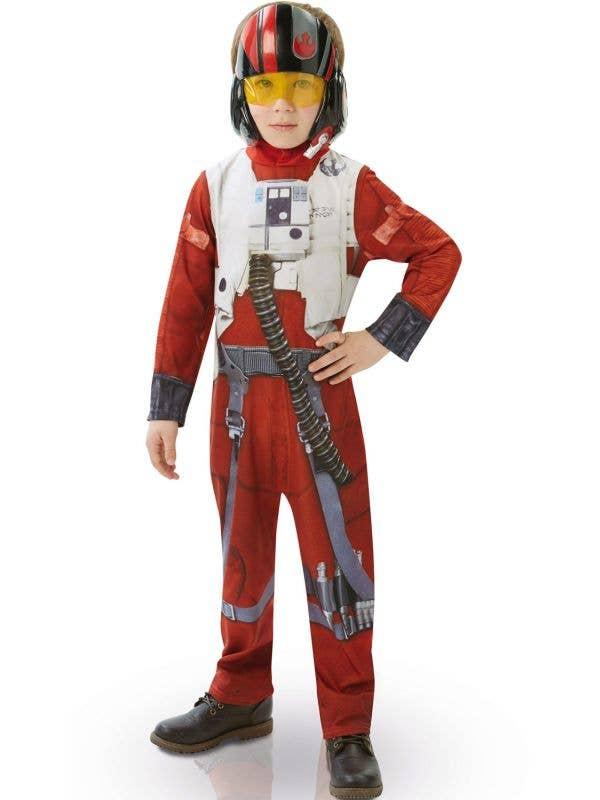 Classic Boys Poe X-Wing Fighter Star Wars Costume