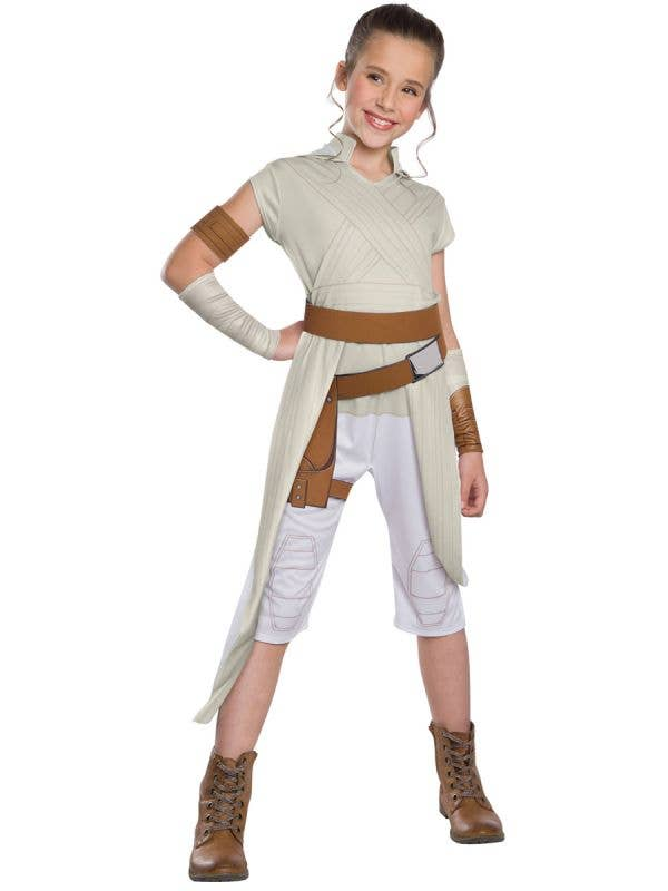 The Rise of Skywalker Girl's Classic Rey Star Wars Costume