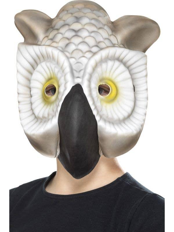 White Owl Kids Novelty Book Week Animal Costume Mask