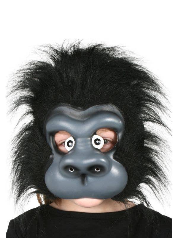 Kids Gorilla Fancy Dress Costume Mask