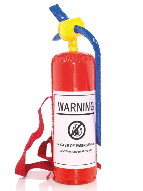 Novelty Inflatable Fire Extinguisher Costume Accessory - Main Image
