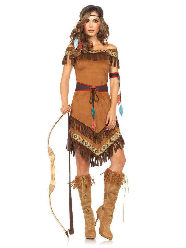 American Indian Sexy Women's Costume Front View