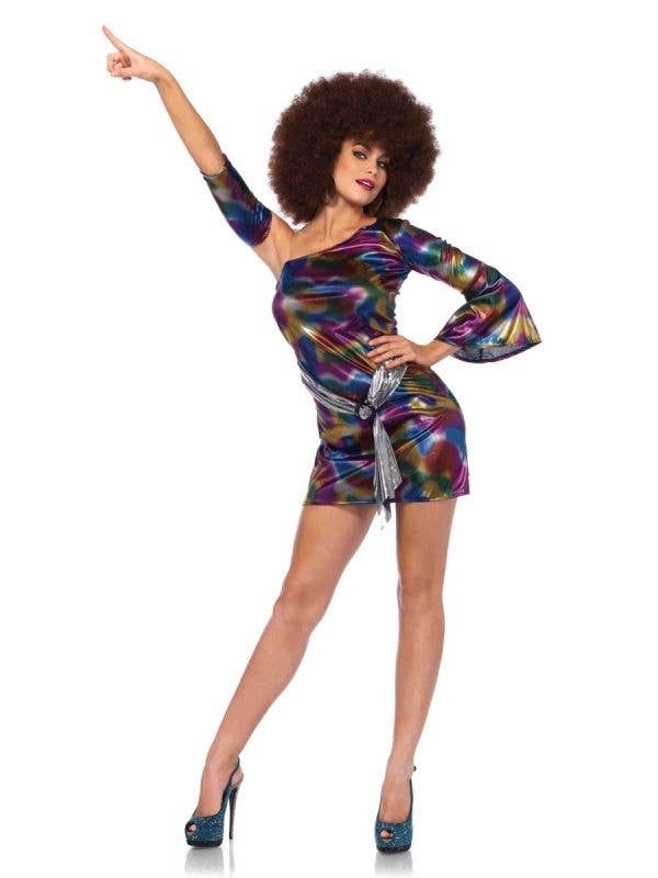 Sexy Disco Doll Women's 1970's Costume Main Image