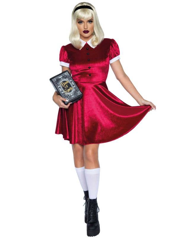 Sabrina Spellman Inspired Costume for Women - Front Image