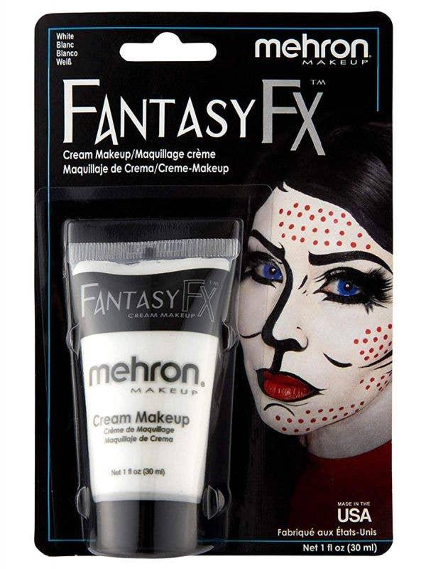 White Fantasy FX Cream Costume Makeup - Front Image