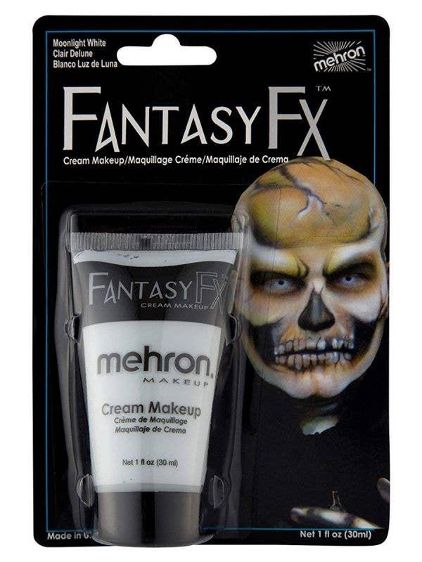 Moonlight White Fantasy FX Cream Costume Makeup - Front Image