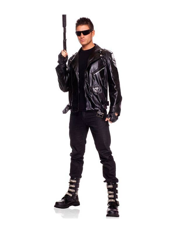 Scary Biker ~ DEMON Rider ~ Costume Boys KIDS Child M L