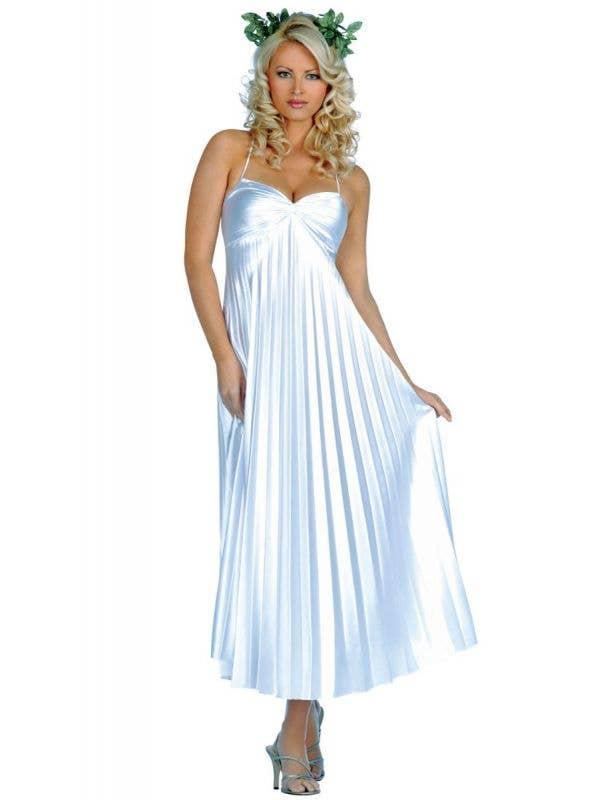 Sexy Women's Grecian Goddess Roman Toga Fancy Dress Costume Main Image