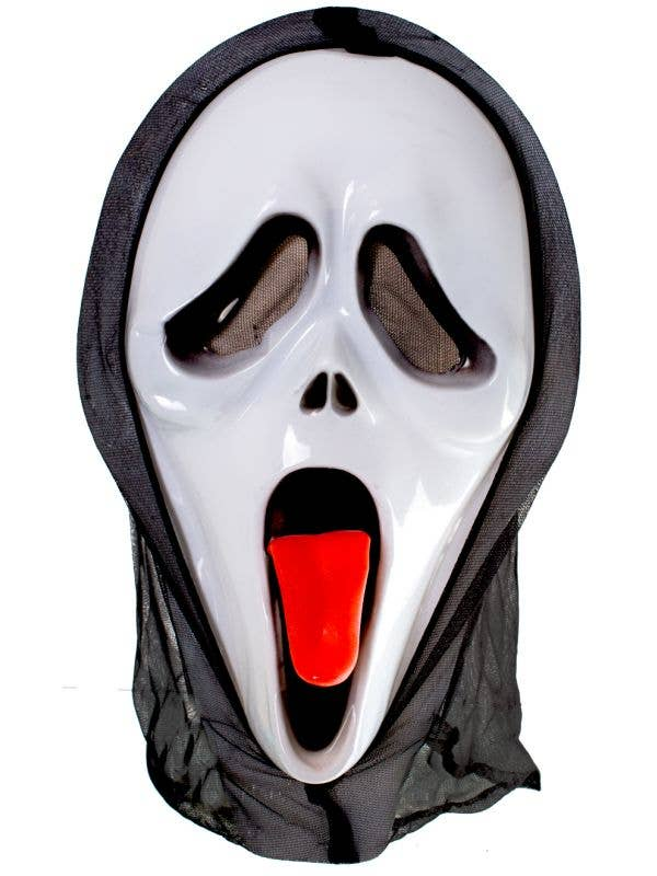 Scream Style Wassup Ghostface Scary Movie Inspired Costume Mask