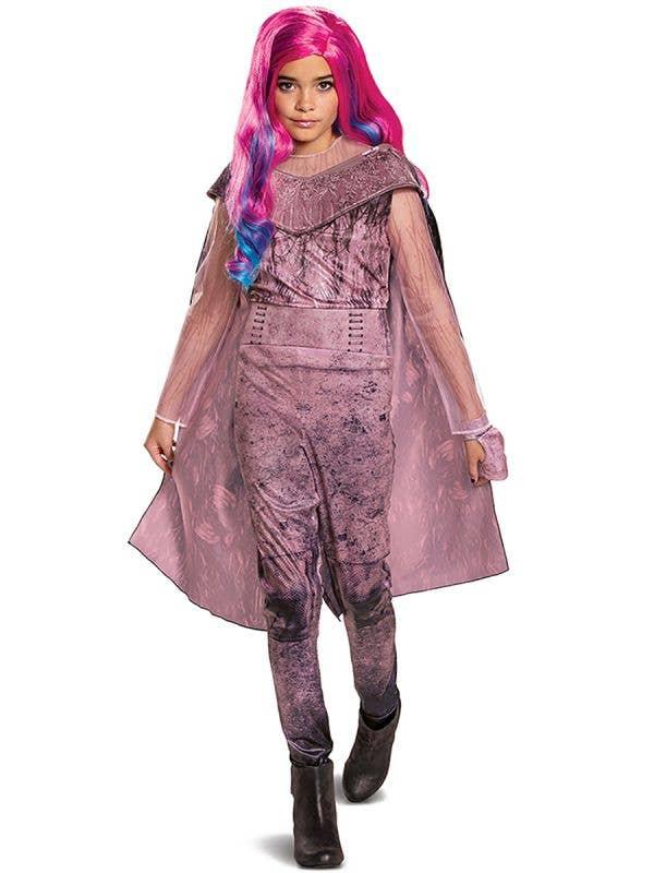 Girls Deluxe Audrey Descendants 3 Fancy Dress Costume Front Image