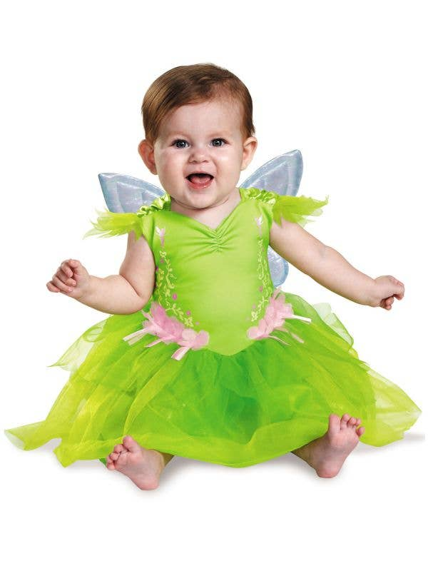 Tinkerbell Baby Green Fairy Costume