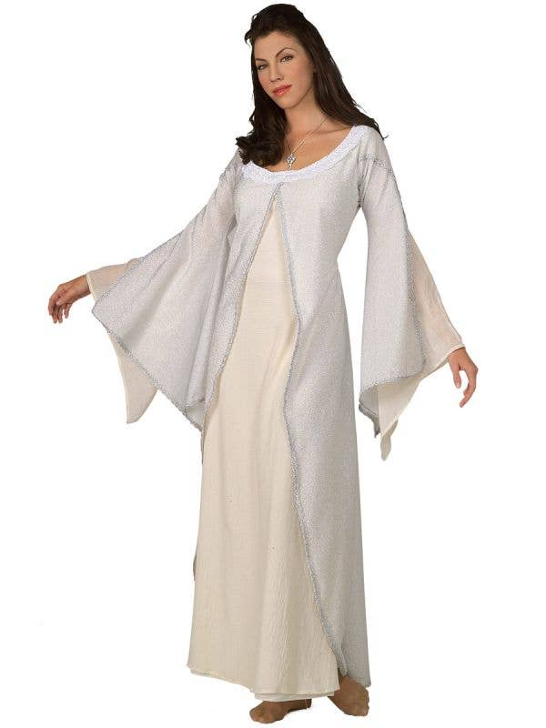 Deluxe Women's White Arwen Lord of the Rings Costume